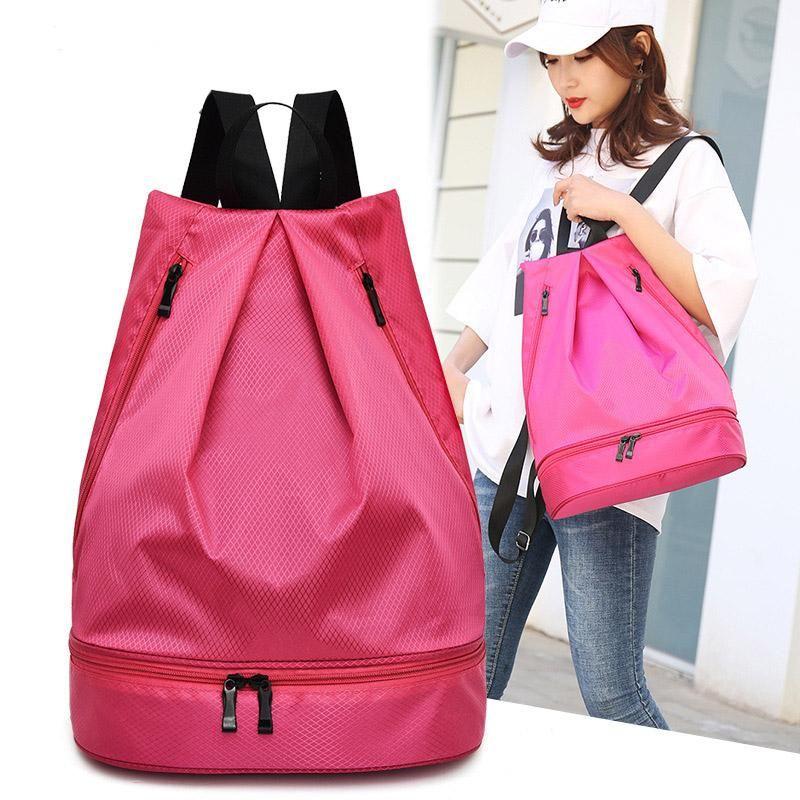 Backpack Waterproof Oxford Women Fashion Nylon Light Backpacks High Quality Large Capacity Travel Solid School Bag