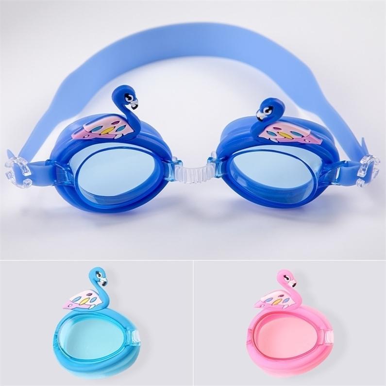أطفال نظارات السباحة للماء نظارات الغوص نظارات الغوص الرياضية متعدد الألوان للجنسين بنين بنات مكافحة الأشعة فوق البنفسجية المضادة للضباب الزجاج H26SMIZ