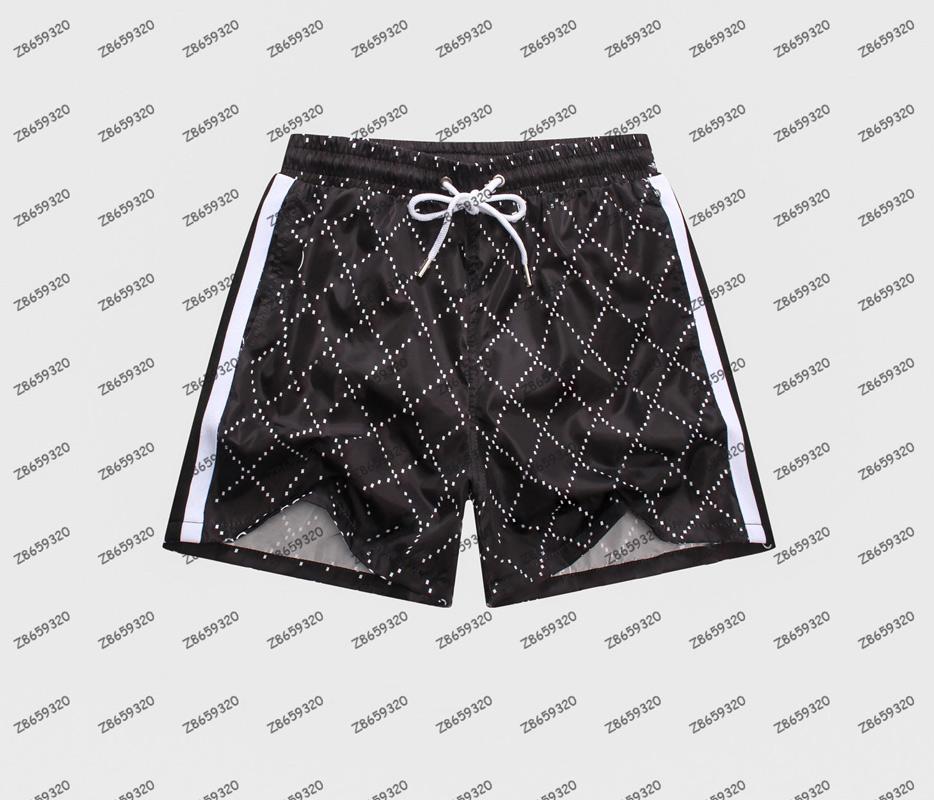 Moda de verano para hombre traje de baño Pantalones cortos de playa Calidad Casual surf Polo Hombres Tablero Pantalones de natación cortos Tamaño M-XXXL
