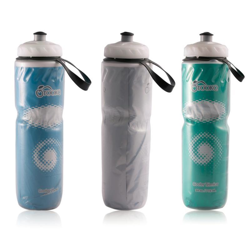 Essential 710ML Portable Outdoor Bike Bicycle Cycling Camping Hiking Sports Drink Jug Sports My Water Bottle SEA1970