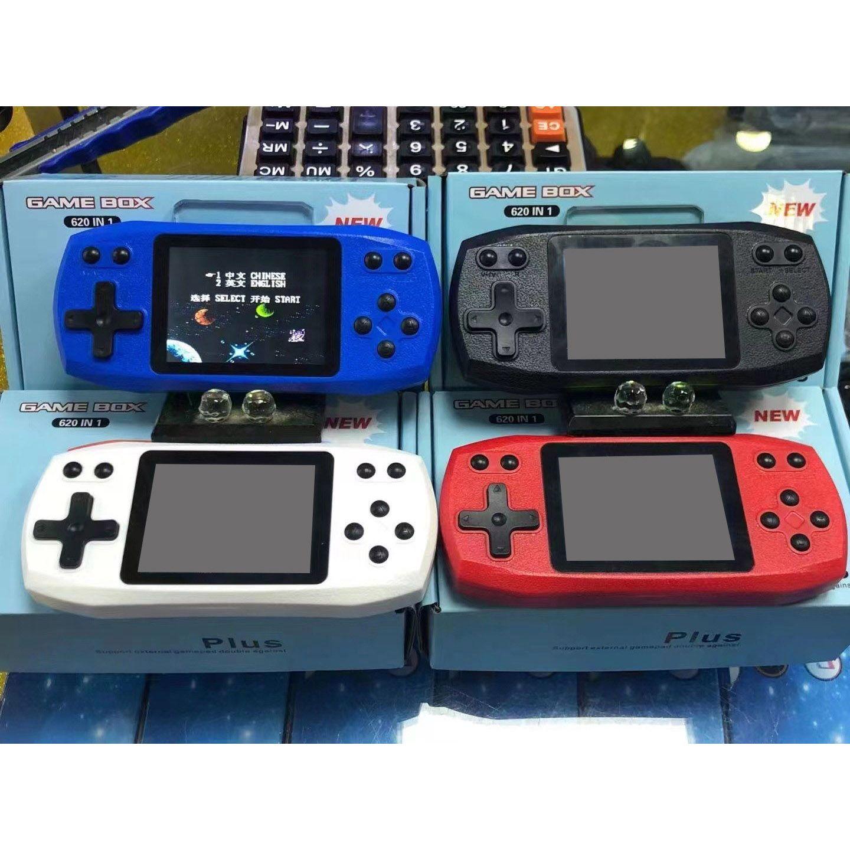 620 레트로 휴대용 게임 플레이어 핸드 헬드 비디오 게임 콘솔 컬러 LCD 디스플레이 지원 TV AV 입력 PK PXP3 어린이 선물을위한 PVP