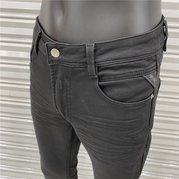 Luxusdesign Mode Herren Designer Jeans Klassische Vintage Slim Bein Jeans Cowboy Berühmte Marke Zipper Verkauf Hip Hop Denim US Größe 28-40