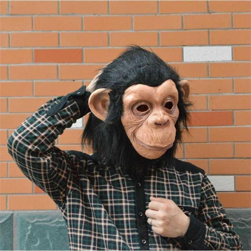 Mono: encantadora cara grande oído látex diamante máscara completa respetuoso con el medio ambiente para Halloween Cosplay Party Night Club