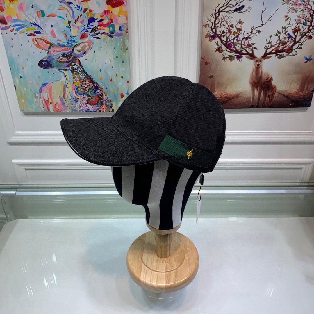 الكلاسيكية أعلى جودة الأفعى النمر النحل القط قماش يضم الرجال قبعة بيسبول مع مربع الغبار حقيبة أزياء المرأة الشمس قبعة دلو قبعة 426887 09
