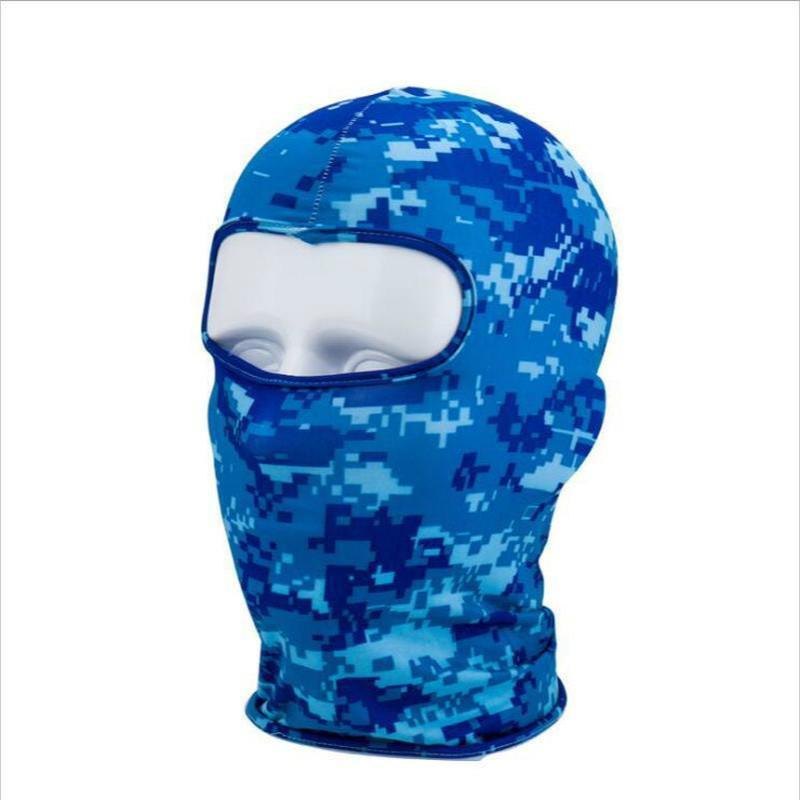 Велоспорт Caps Masks Камуфляж Мотоцикл Маска для лица Открытый Спорт Шея Зимний Теплый лыжный Сноуборд Ветер Шапка Балаклава