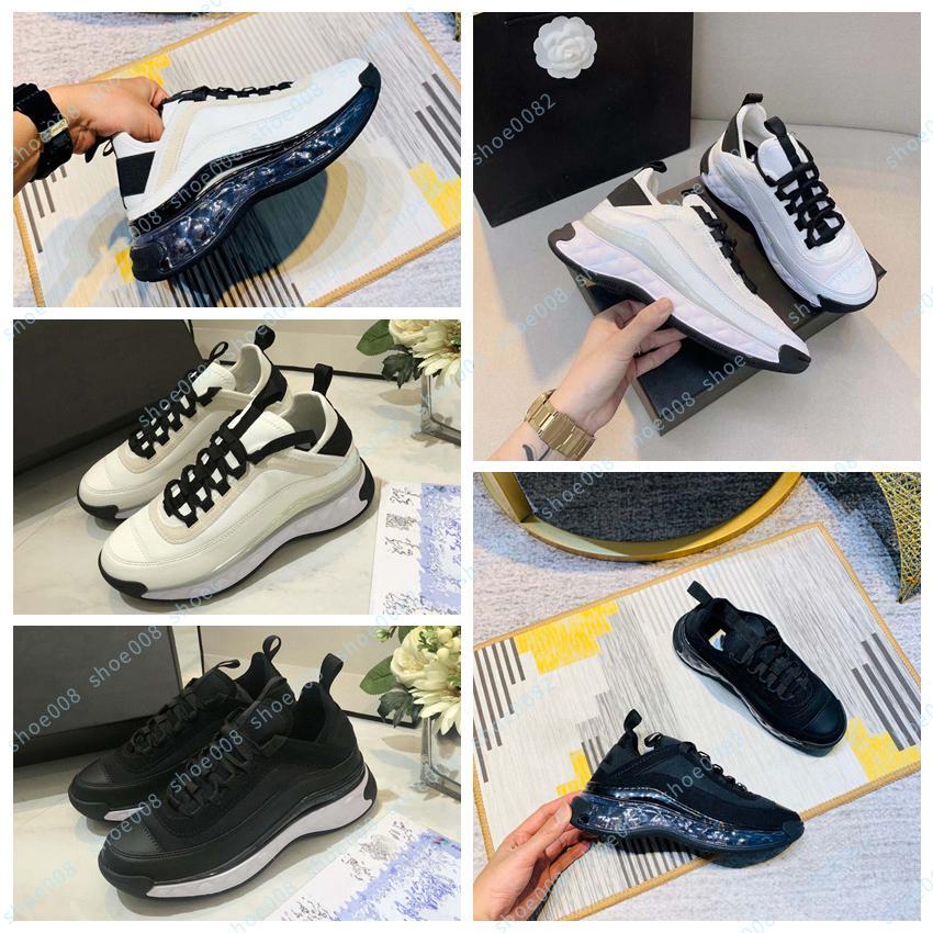 Novo fugitivo baixo top sneaker plataforma padrão plataforma clássico camurça couro esportes skateboarding sapatos homens mulheres sneakers sapato008 25611