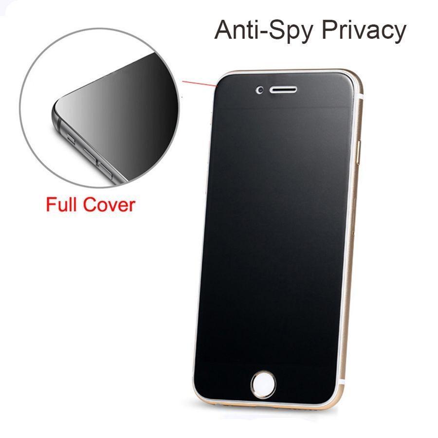 iPhone 12 미니 12 Pro Max XS Max Privacy Screen Protector Shield Anti-Spy 강화 유리 iPhone X XS XR 8