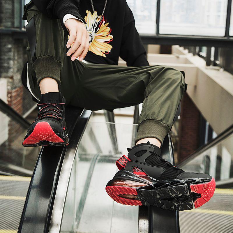 Mens Casual Shoes Fashion Sneakers For Men Flat Shoes Trend Comfort Shoes Mens Breathable Mesh Movement Tzapatos De Hombre
