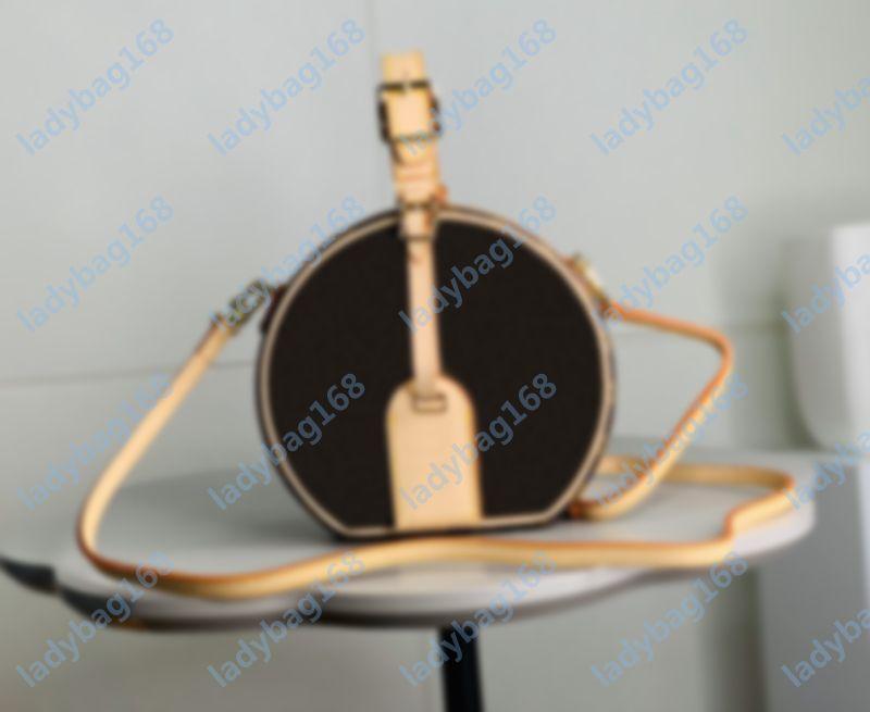 Высокое качество Petite Boite Chapeau Sumbag Summer Shumping Original Coakhide Trim Hatbox Designer Buashs Beachbody Messenger