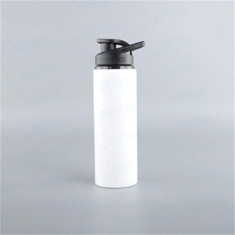 Nueva llegada Sublimación suave en blanco Botellas de aluminio Creativo Kettle personalizado Alta calidad Prevención de fugas Copas de agua Diseño popular 8K KTSN