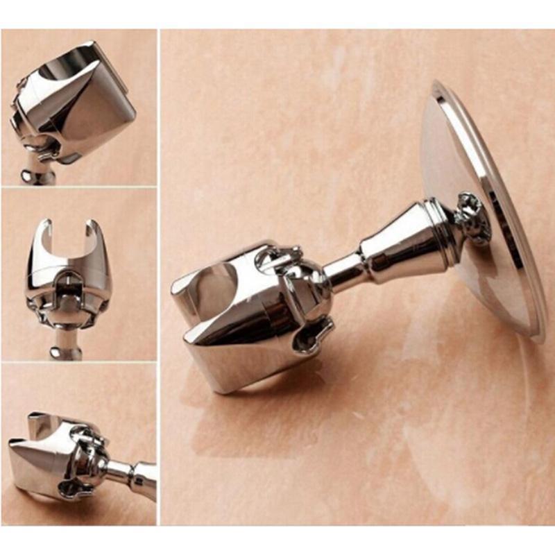 Bad Zubehör Set Stand Chic Halterung Badezimmer Werkzeug Vakuum Saug Verstellbare Halter Duschkopf Wandhalterung Rack