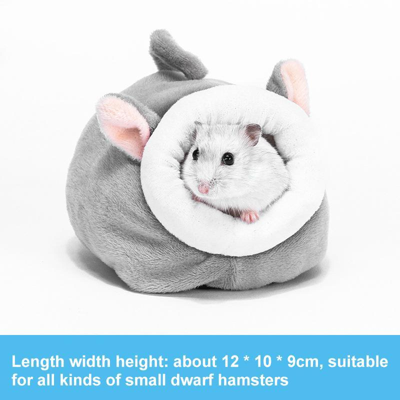 Small Animal Supplies Nest Winter Warm Hamster House Guinea Pig Cotton Pet Bed For Rodent/Guinea Pig/Rat/Hedgehog