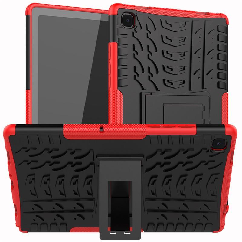 Robuste Aufprallständer Stoßfest Schwerlastkoffer für Samsung Galaxy Tab A7 10.4 / T500 iPad Pro 9.7 11 AIR 10.9