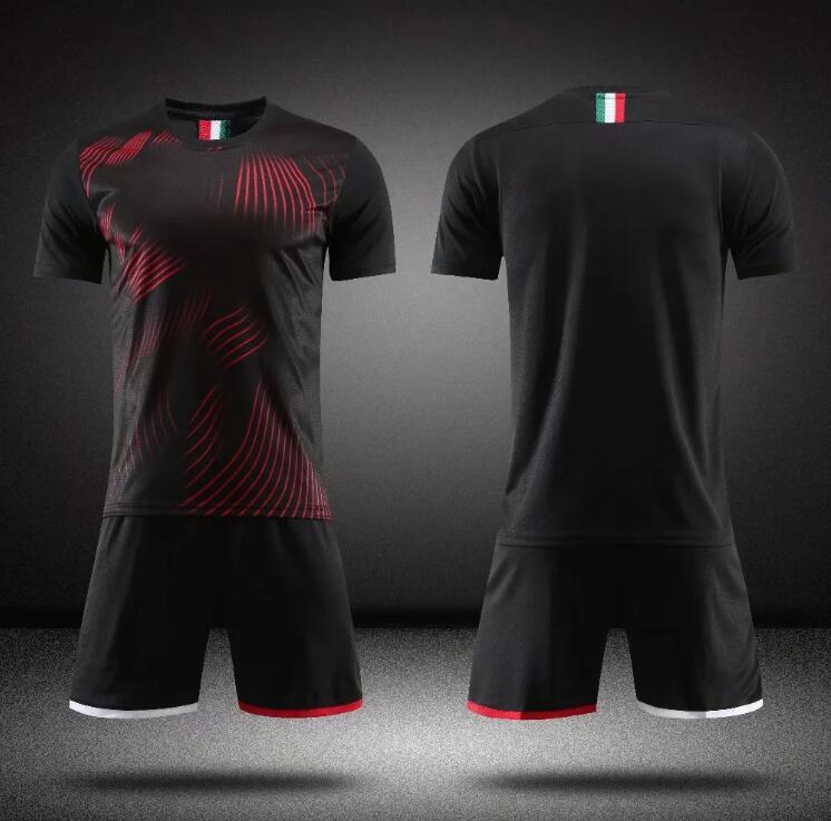 Настройка взрослых футбол Джерси мужчины CamiSeta Fútbol Mailoots de Футбольная рубашка комплект высокого качества S -xxl 0097