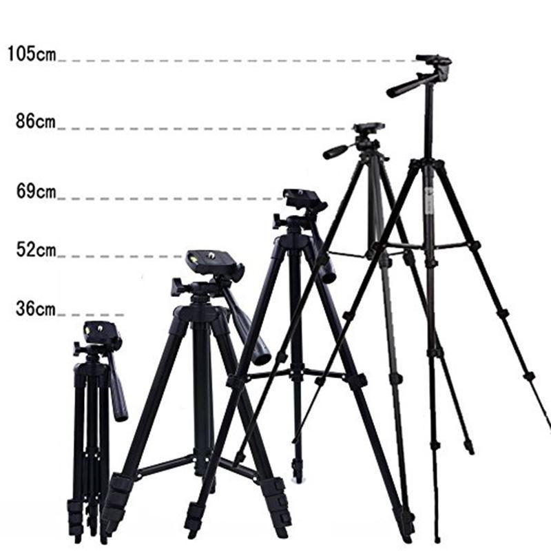 105 см Расширяющийся штатив 4 раздел Портативный алюминиевый сплав регулируемый штатив для цифрового телескопа камеры с переносной сумкой