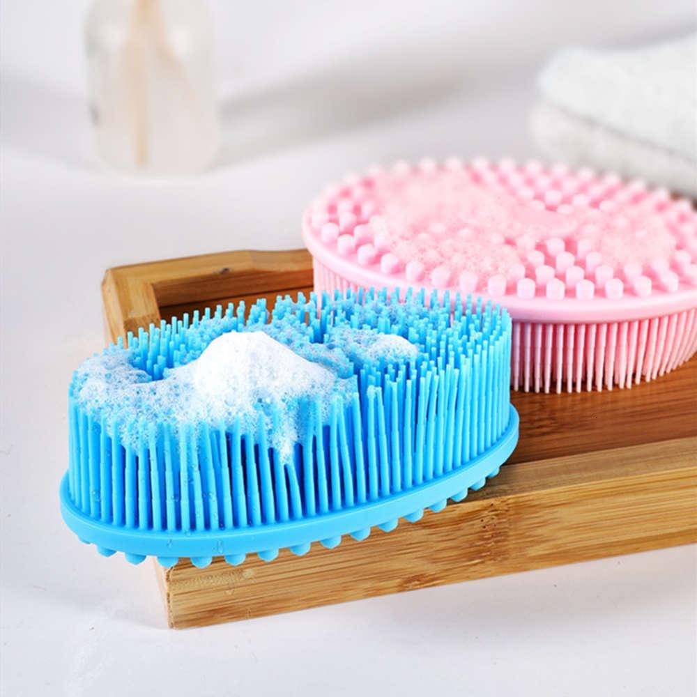Baby Silikon Weiches Shampoo Kinder Bad Sensorisches Training Taktile Pinsel