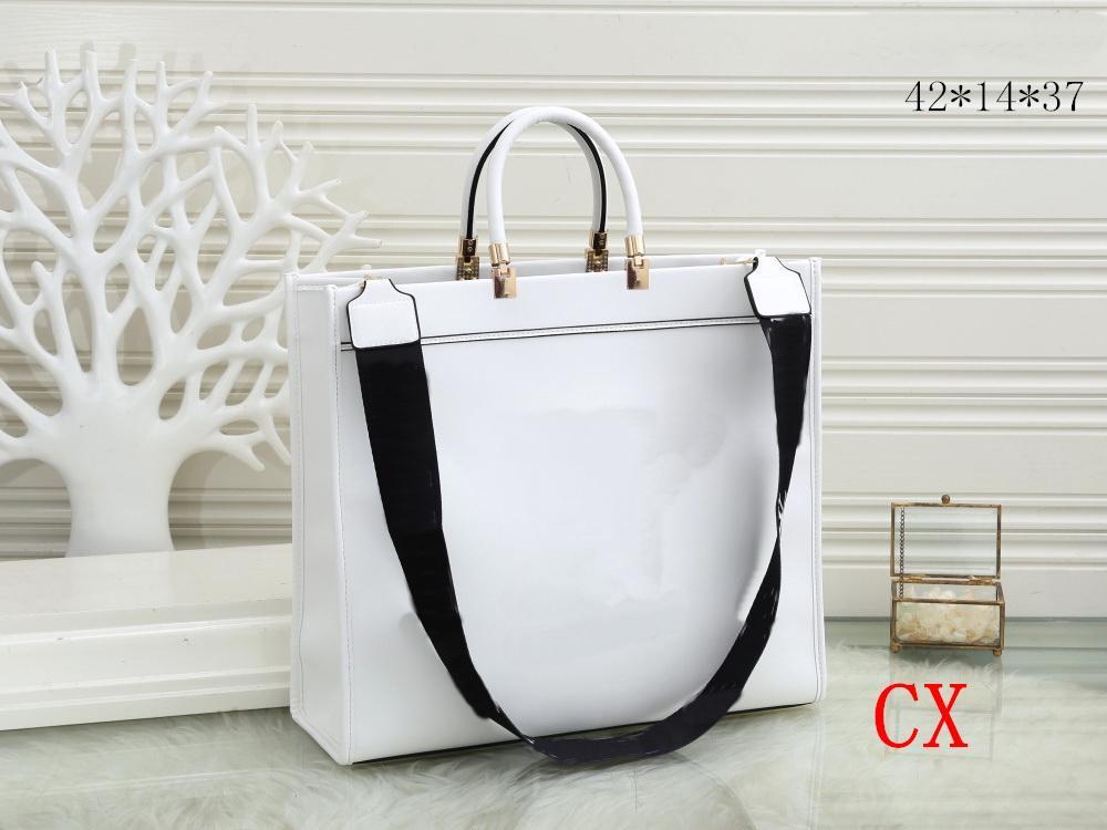Top Quality New Handbags Bolsas Pu Couro Brown L Flor Bolsas Mulheres Sacos de Ombro Bolsas Bolsa Senhora Saco Messenger Bags Moda Bags