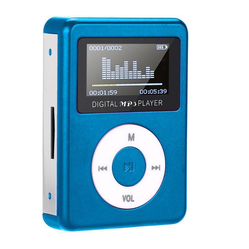 & MP4 Players Mp3 Music Player Mini Usb Clip Lcd Screen Sports Walkman Support 32gb Micro Sd Tf Card Bu Reproductor Mp3#p4