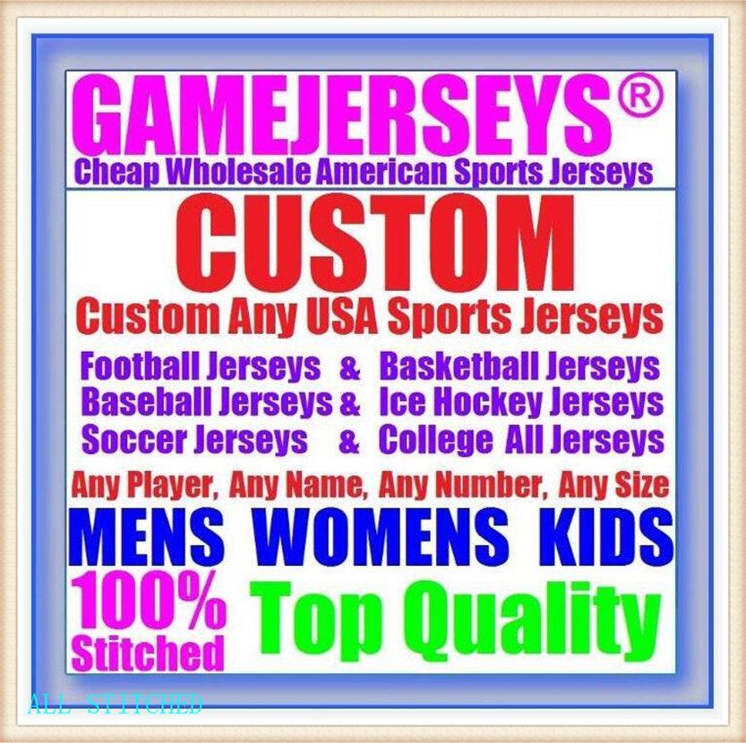 Custom Basketball Baseball Hockey sobre hielo Hombres Mujeres Niños Niños American Football Jerseys Deporte Vapor Vapor Intouchable Jersey Steins Palyer 4xl 5xl 6xl