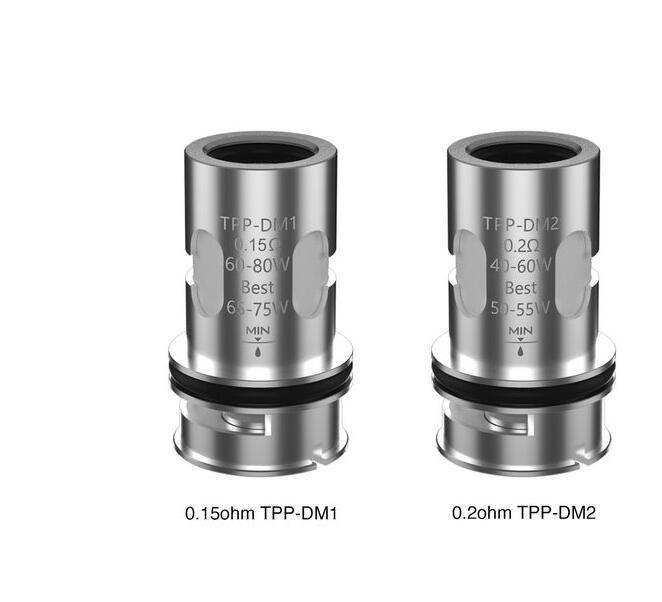 US Stock VOOPOO TPP Mesh Coil TPP DM1 DM2 Coils 0.15ohm 0.2ohm TPP-DM2 TPP-DM1 Replacement Coil For Drag 3 Drag X Plus Kit 100% Original