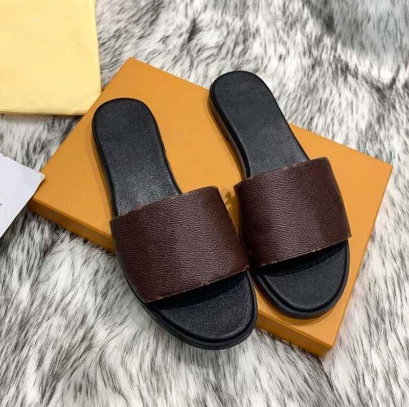 Mode Man Femmes Sandal Sandal Sandal Caoutchouffe Sandal Floral Brocart Chaussures Engrenages Fonds Flip Flops Panteaux de causalité à rayures Home011 03