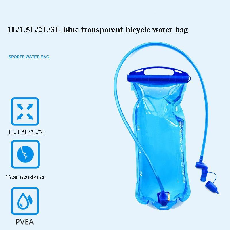 Fahrradwassertasche Radfahren Wasserreservoirblase Hydratation Packung Aufbewahrungstasche 1L 1,5l 2L 3L Laufender Hydratationsweste Rucksack