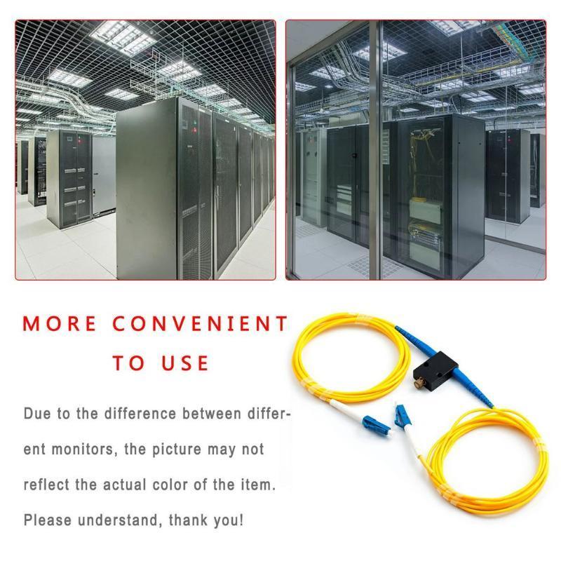 Lumières interiorexternelles LC / UPC Adaptateur de fibre optique d'atténuateur réglable en ligne SC Réglage mécanique