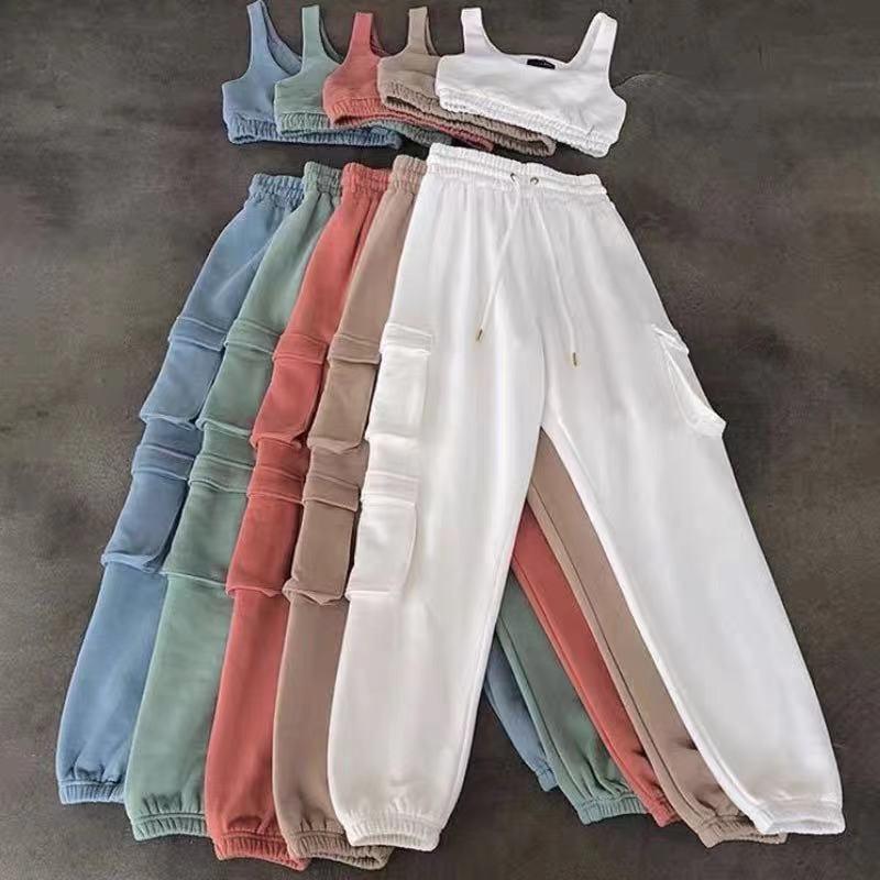 2021 Neuer Stil auf der Regale, Mode- und Freizeitstil Slim Weste + Taschenhose, mehrere Farben können ausgewählt werden, frei von Porto