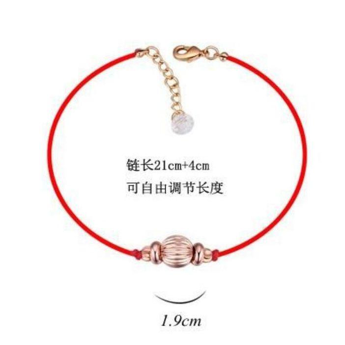 Новые классические красные веревки цепные бусины шарм браслет из австрия кристалл для дня Святого Валентина подарок