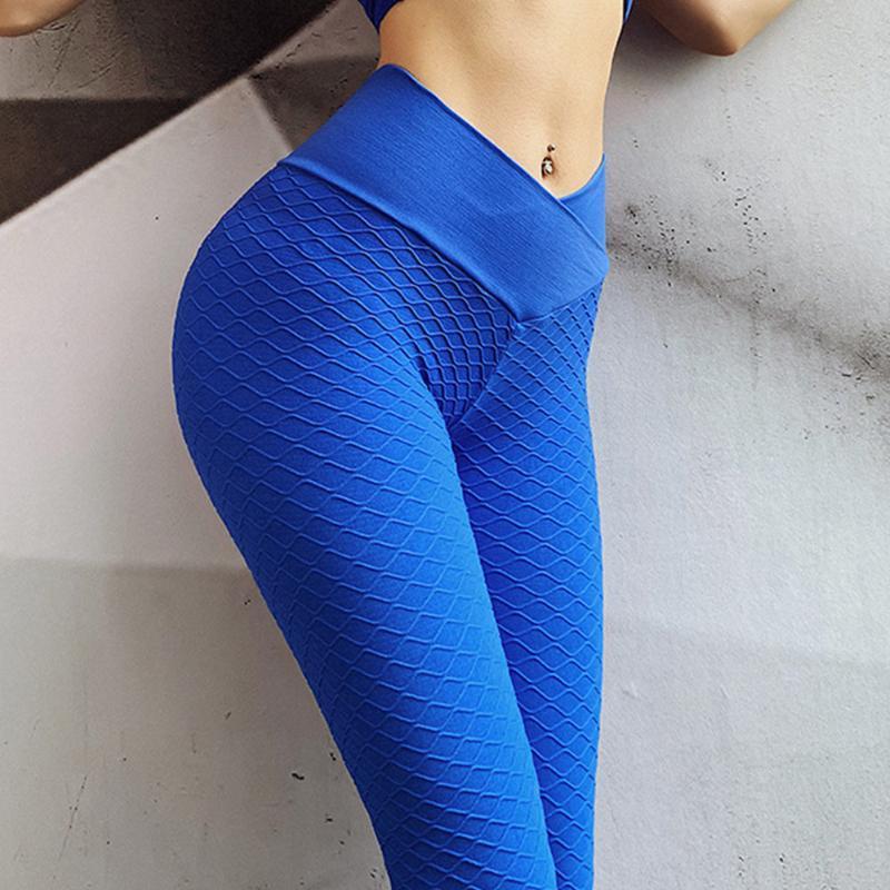 Yoga Kıyafetler Vücut Geliştirme Pantolon Kadın Koşu Spor Tayt Yüksek Bel Uyuklar Spor Salonu Fitness Eğitimi Push Up Egzersiz Squat Geçirmez Giyim