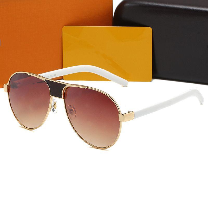 Designer di lusso Mens Donne Occhiali da sole Guida di rospo Fashion Occhiali da sole UV400 Adumbra