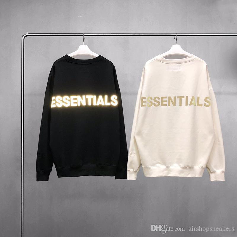 Warme Essentials Hoodies Herren Womens Fashion Streetwear Pullover Sweatshirts Lose Liebhaber Tops Kleidung