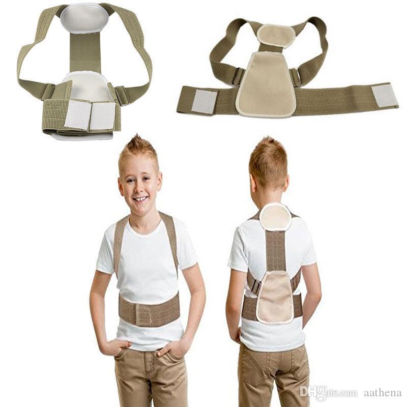 Appareil de correction de la posture chez les enfants, adolescents et jeunes de soutien de la posture de la colonne vertébrale correction de la correction de la posture C