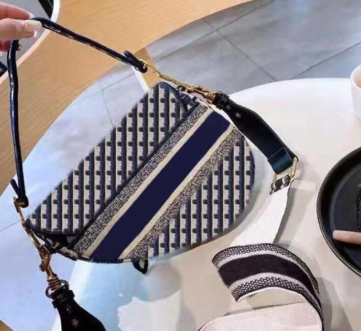 المصممين الفموريون حقائب عالية الجودة حقيبة السيدات الشهيرة الجلود الأجهزة محفظة نجمة ستار التطريز الرجعية حقيبة الكتف حقيبة السرج