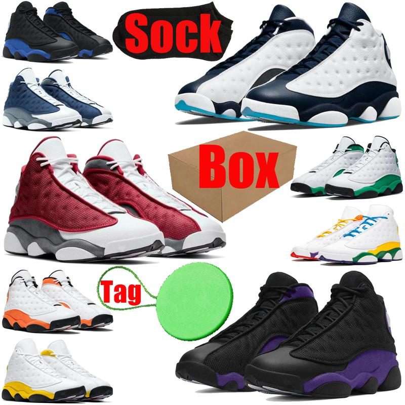 2020 Starfish 13 13s zapatos de hombre jumpman Red Flint Hyper Royal Chicago Lucky Green Black Cat para hombre zapatillas deportivas