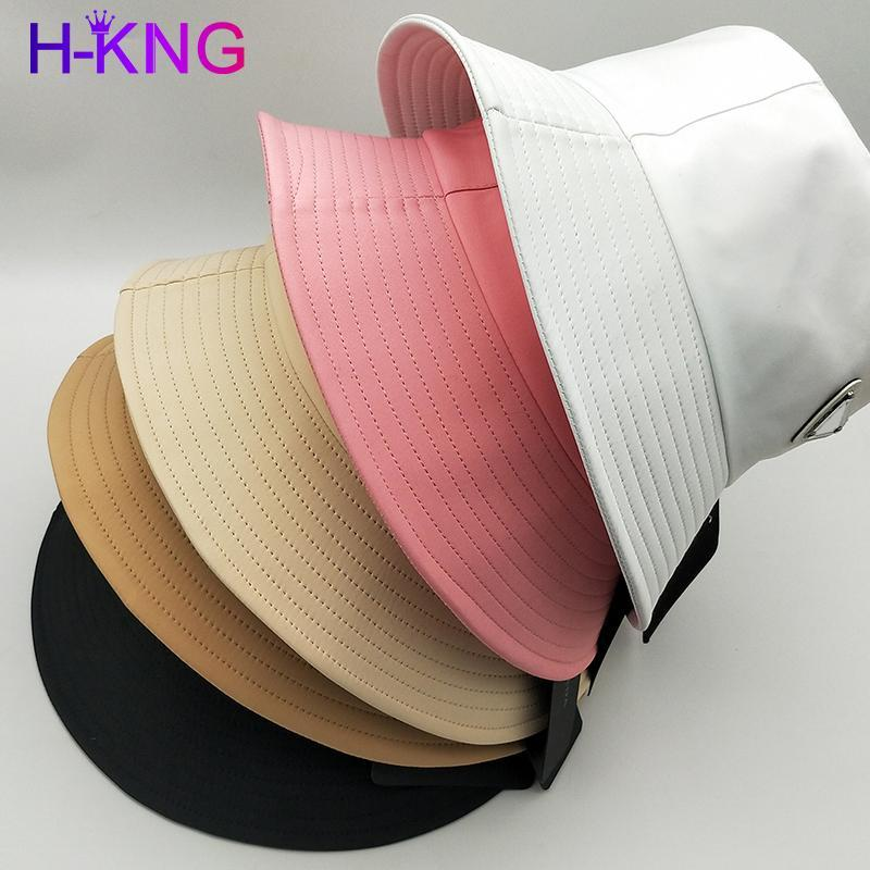 2021 nuovo unisex modello stile secchio di lusso cappello da donna moda designer cappello bacino nylon sole nero viaggio all'aperto viaggio