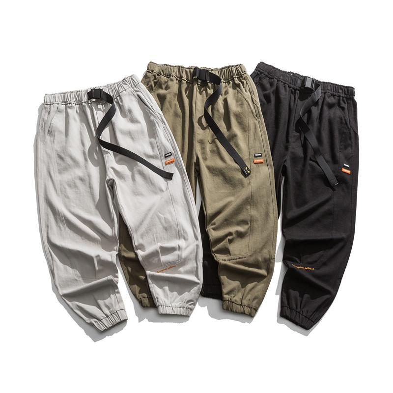 Мужские брюки 3 цвета мужские гарем трек падение зима мода повседневная M-XXL
