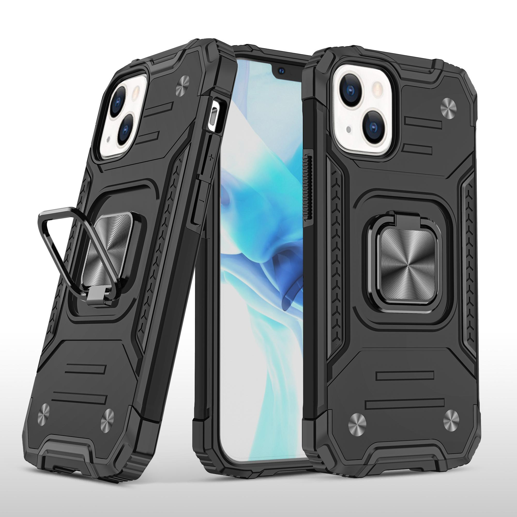 Phone Cases For iphone 13 Pro Max 12 Mini 11 Xs Xr X 7 8 Plus 6 6s Samsung A72 A52 A32 A22 A12 A02s A02 Shockproof Kickstand Protective Shell