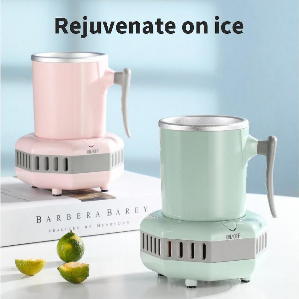 Tragbare Wasserkocher-Wärmeerhaltung kaltes und warmes Bier-Bier-Getränk Schnellkühlung / Tasse Mini-Schlafsäle Eisdauer Kühlkugeln Grün / Blau / Pink