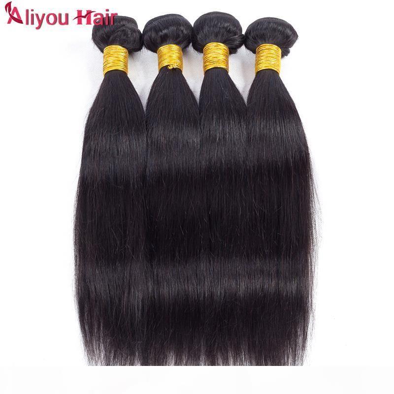 En iyi satış Günlük fırsatlar vizon Brezilyalı düz bakire saç örgüleri ıslak ve dalgalı remy İnsan saç demetleri at kuyruğu toptan saç uzantıları