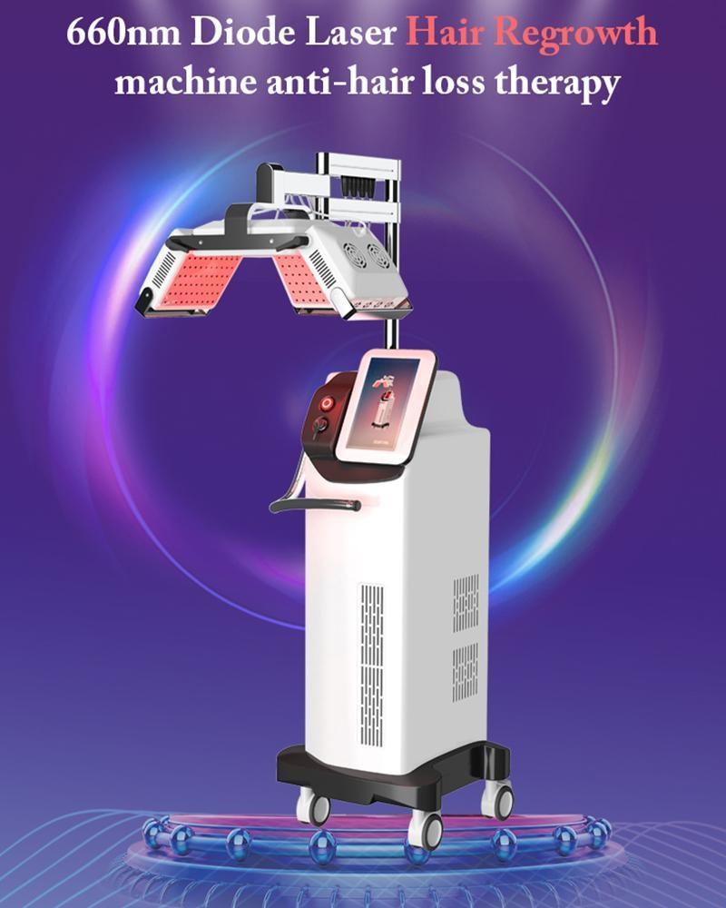 2021 Wachstumsmaschine Nachwachsene Haargerät Laser-Salon-Ausrüstung