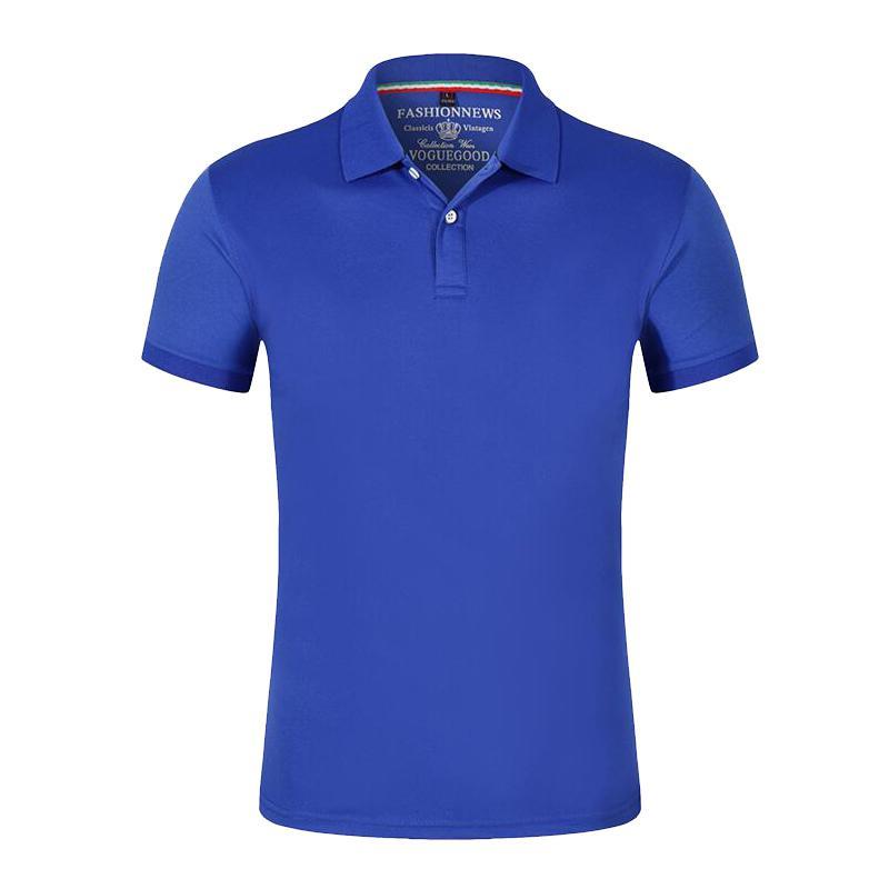 2021 New Hombres Marca Hombre Color Sólido Polo Camisas Camisa Masculina Hombre Casual Algodón Manga corta Polos Cuello Camisa S0L7