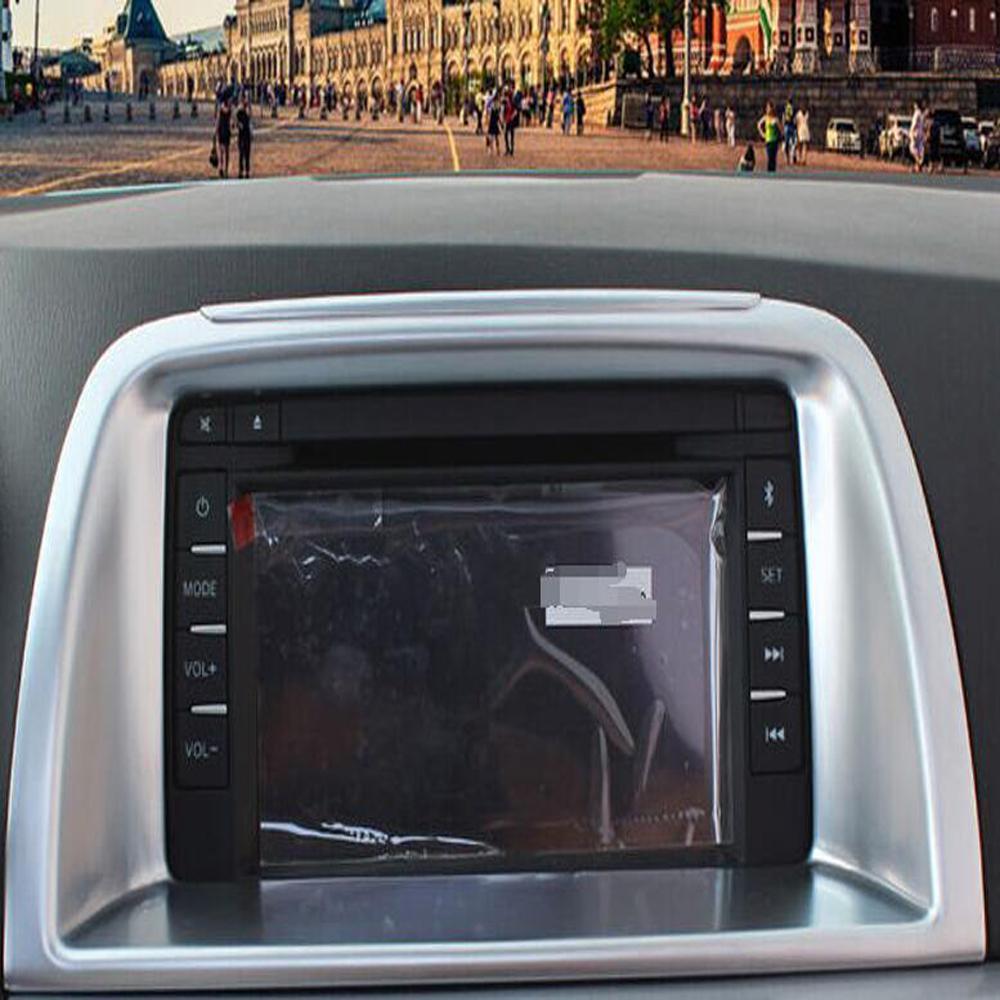 ل Mazda CX-5 CX5 2013 2014 2015 2016 ABS ماتي مركز التحكم لوحة الغطاء تقليم الداخلية اكسسوارات السيارات سيارة ملصقا