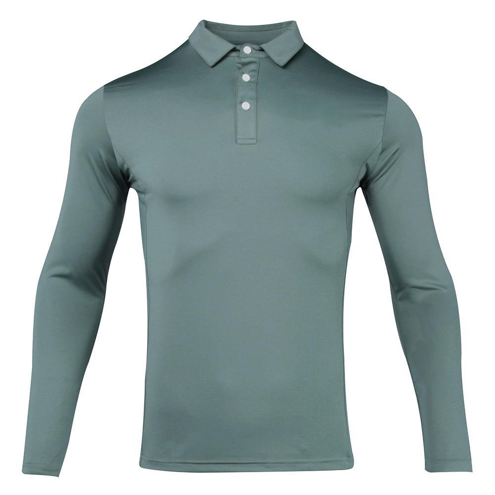 2021 New Golf Wear Wear Manica lunga Camicia da golf 7 colori in Choice Tempo libero Fitness Quick Dry Golf Vestiti da golf Sport Maglietta Maglietta Gym