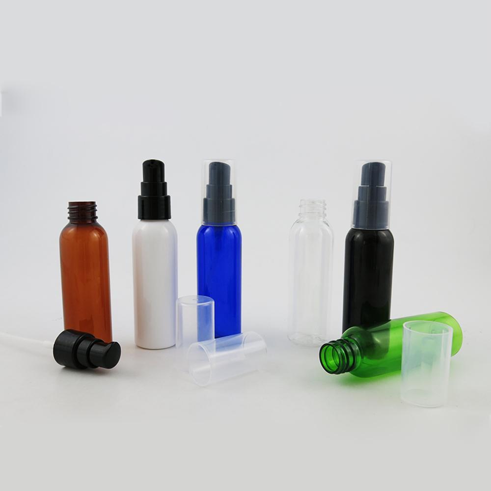 30 x NUEVO 60 ml 2oz Maquillaje Baño líquido Crema Loción Loción Champú Botella Botella Dispensador de viajes Recipiente para gel de ducha de jabón
