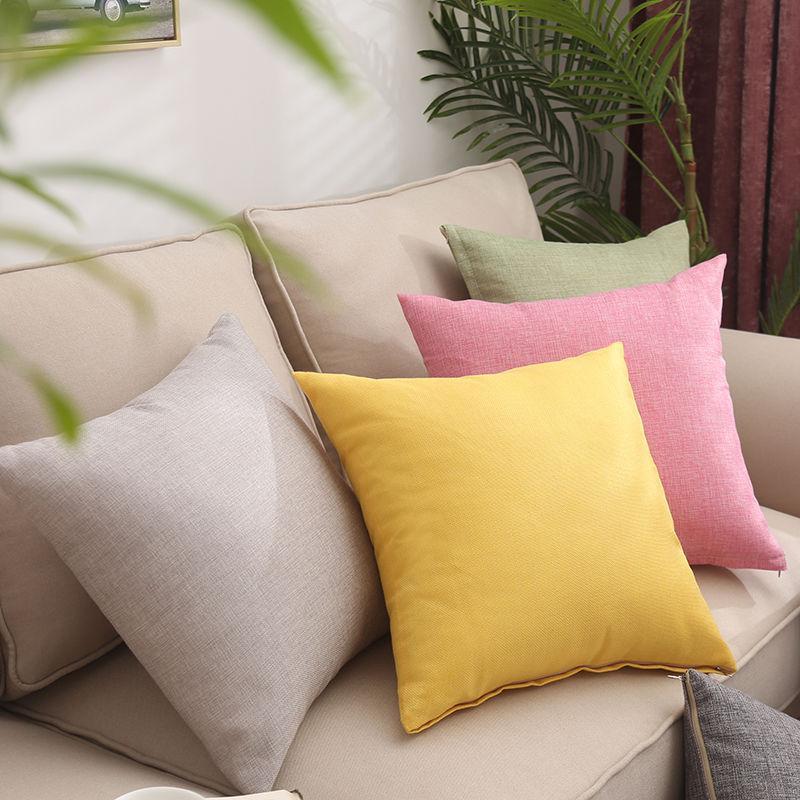 X232 Küçük Taze Kucaklama Yastık Dikey Şerit Süet Yastık Örtüsü Ev Eşyaları Hug Yastık Kılıfı Katı Renk Yastık Kapakları ASDF