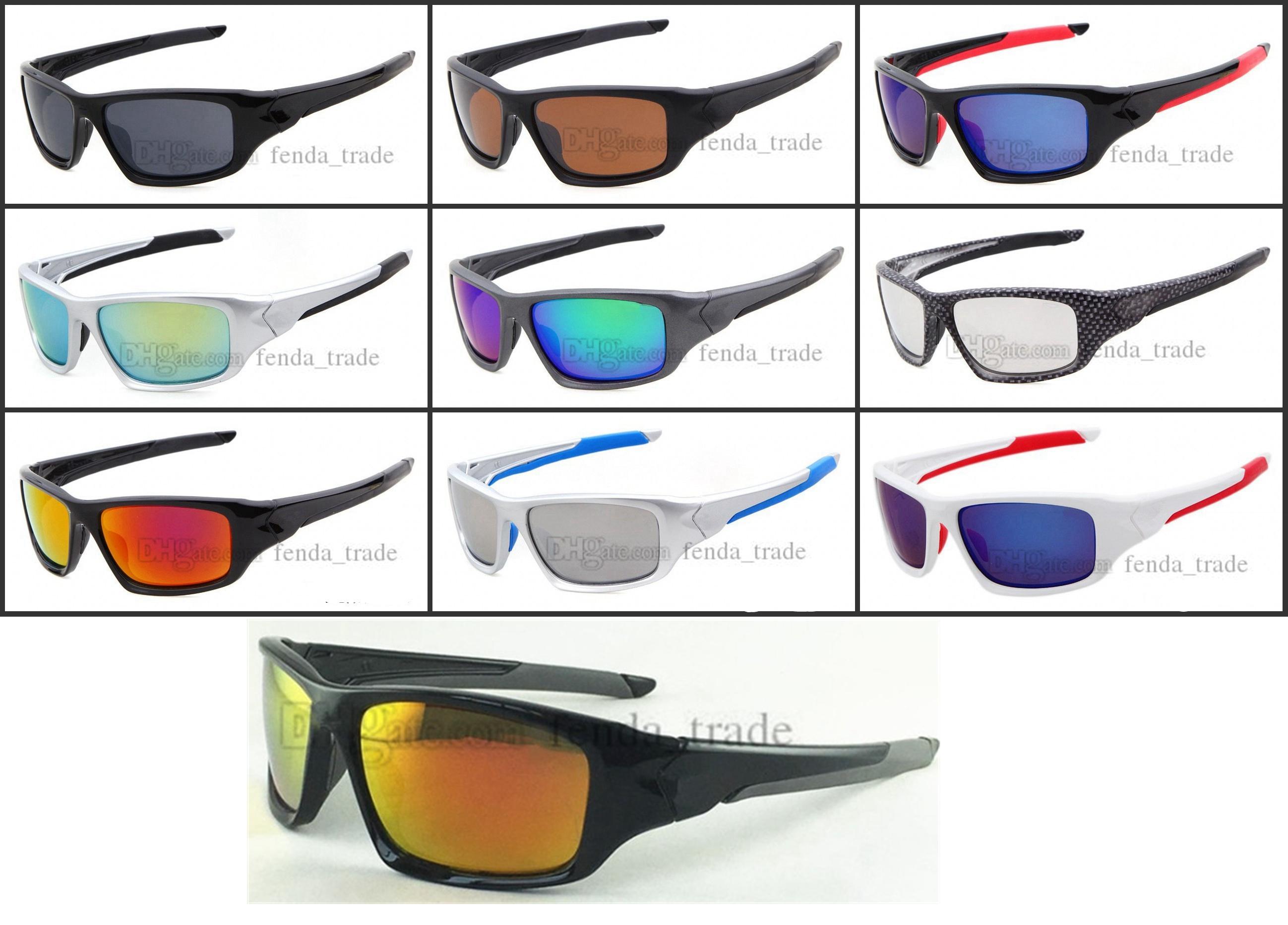 Prix usine Lunettes de soleil à vélo UV400 Protection Sport extérieur Pêche à vélo Randonnée à vélo Verres à vent Vélo Eyewear 10pcs