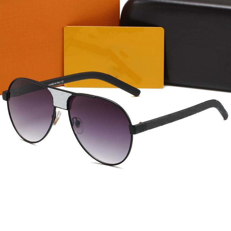 2021 الرجال النساء النظارات الشمسية للمصمم خمر الطيار العلامة التجارية الشمس النظارات الفرقة 420 الأزياء 5a + جودة uv400 بن رجل إمرأة مع مربع القضية