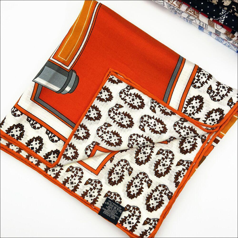 Cashmere And Silk Pashmina Cashmere Scarf Hand Rolled Scarf Vintage Silk Cashmere Scarf Shawl Carriage Print Stole