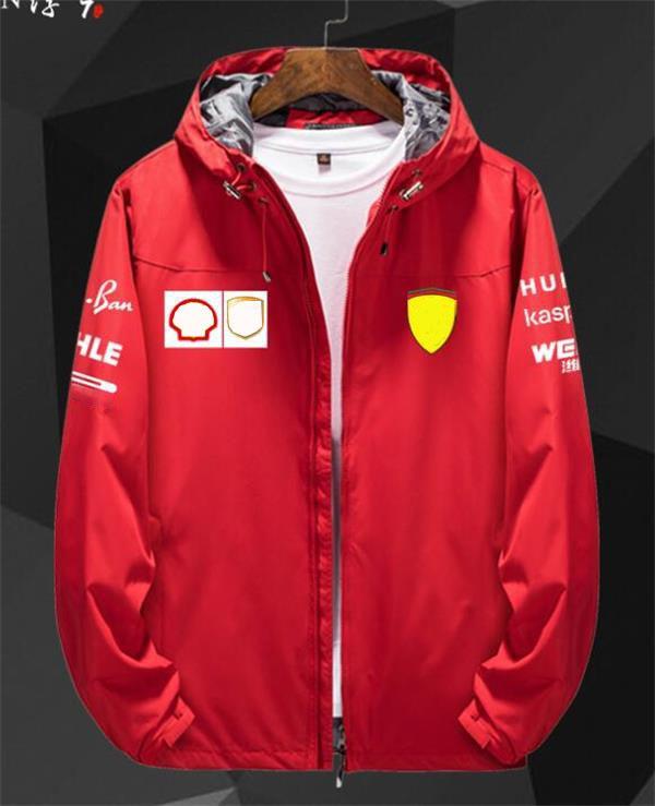 Sweat-shirt d'équipe F1 Nouvelle veste de course d'automne et d'hiver